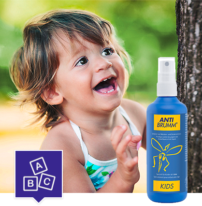 Packshot d'ANTI-BRUMM® Kids.
